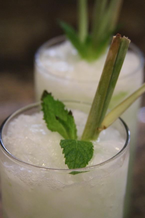 Vodka Mint Lime Cocktail