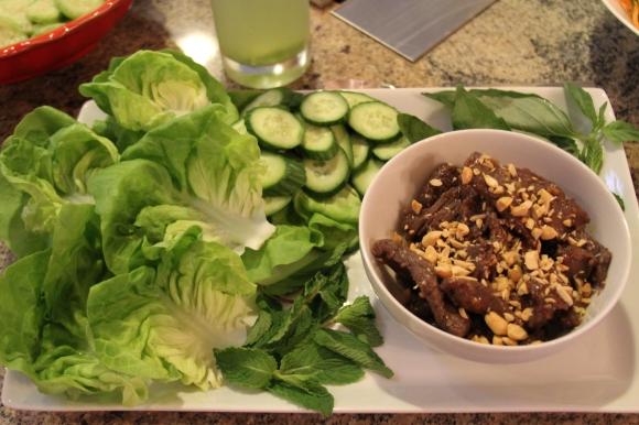 Lemongrass Beef Skewer