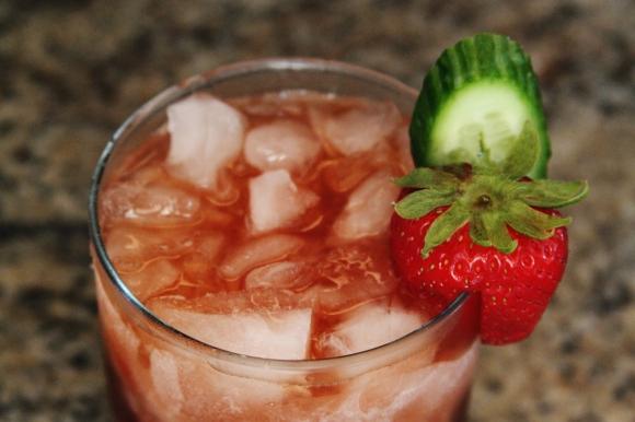 Strawberry Balsamic Smash