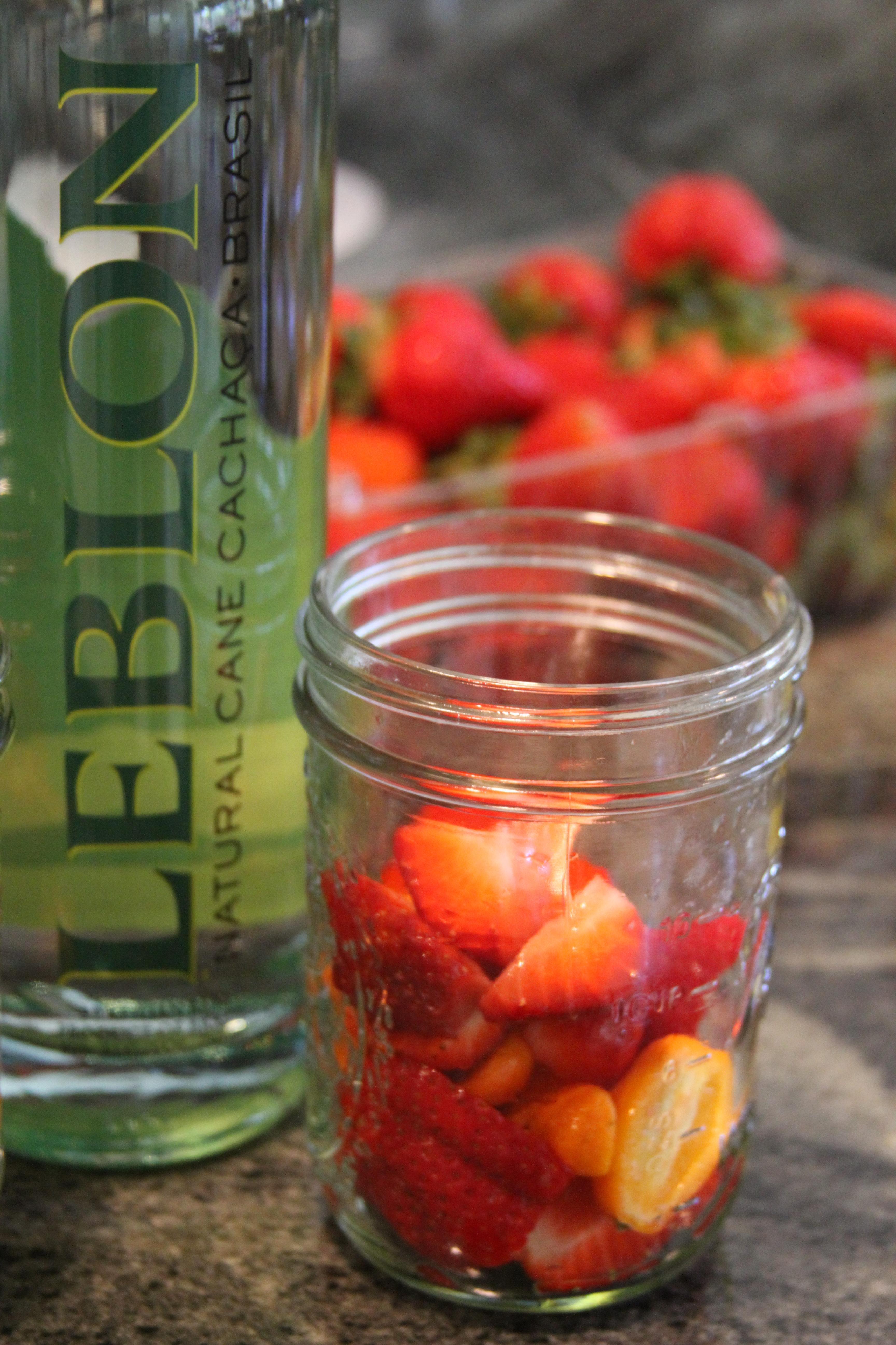 Strawberry and Kumquat Caipirinha – Laundry In Louboutins