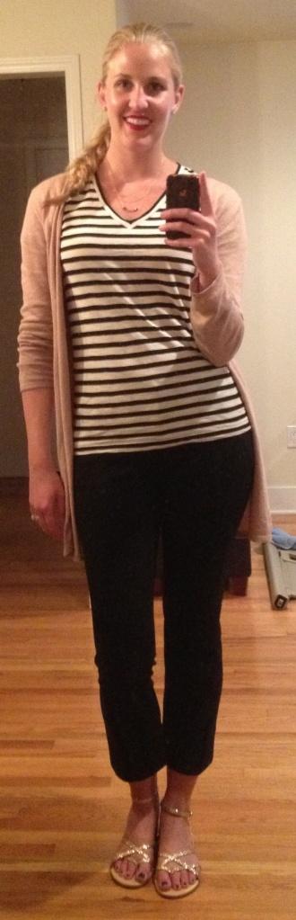 Striped Shirt OOTD