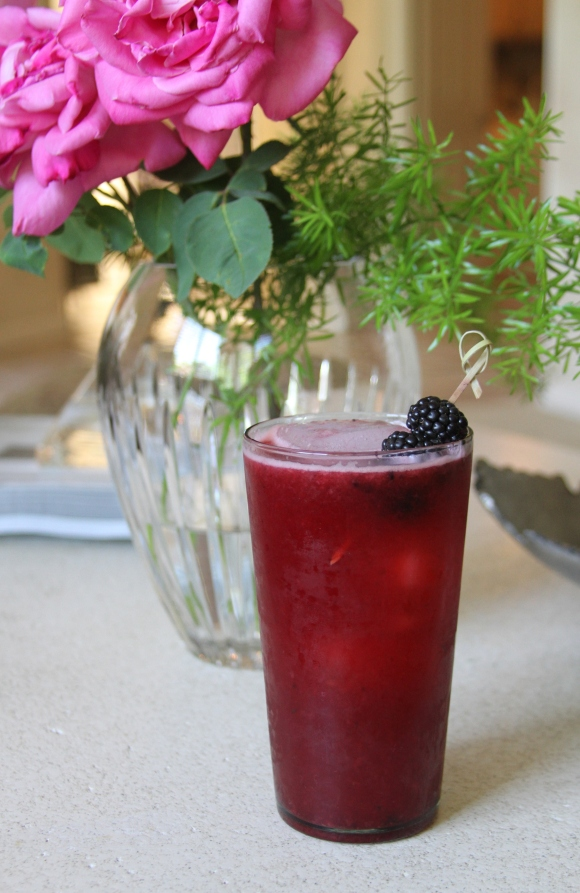 Blackberry Bourbon Lemonade