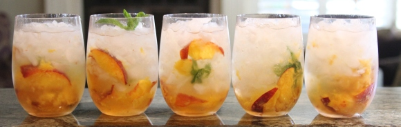 Peach Ginger Vodka