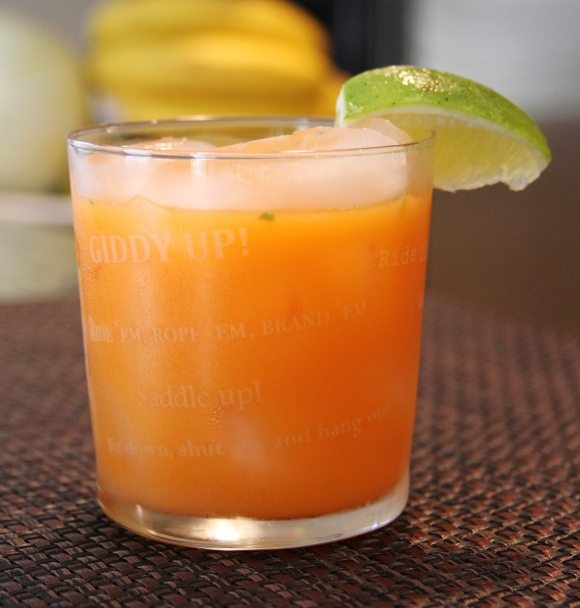 Carrot Rum Cocktail