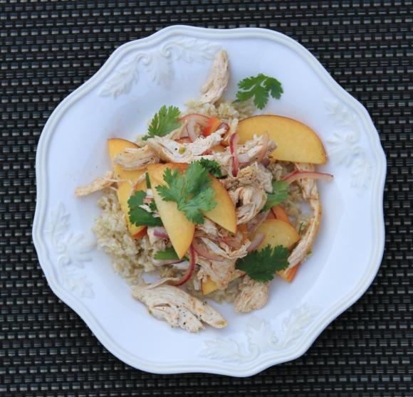 Chicken Peach Rice