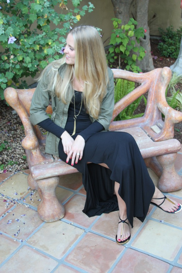 Black Gold Sandals