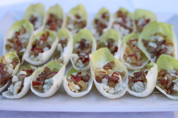 Endive Walnuts Blue Cheese