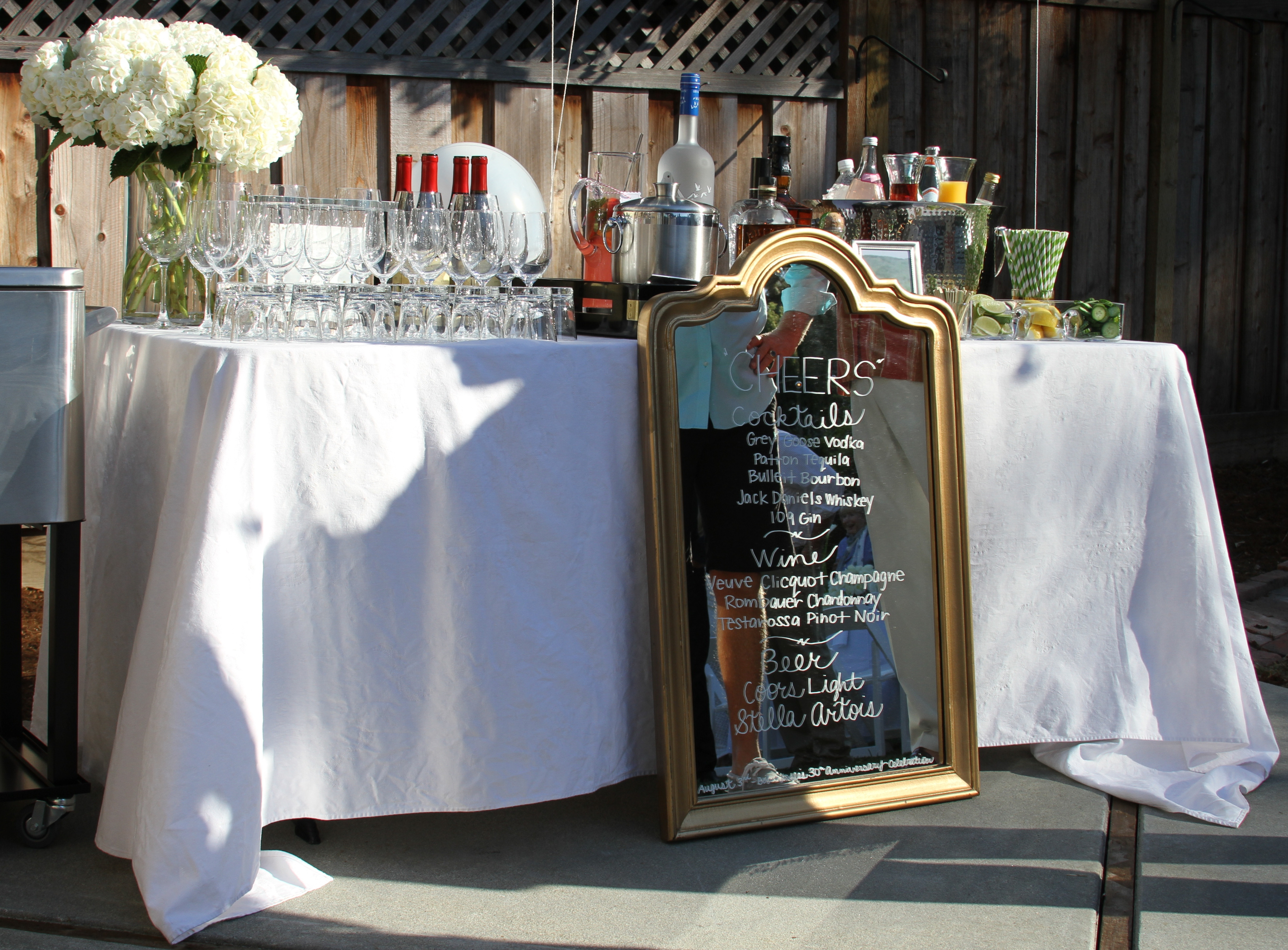 Anniversary Party – Bar Set Up Tips – Laundry In Louboutins