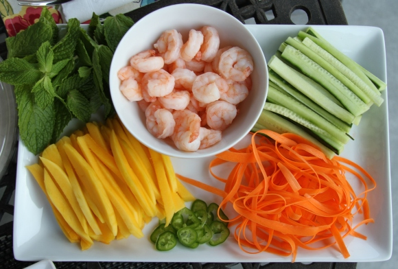 Spring Roll Veggies