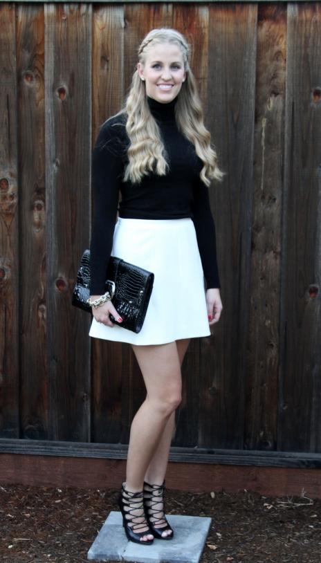 J.Crew White Skirt
