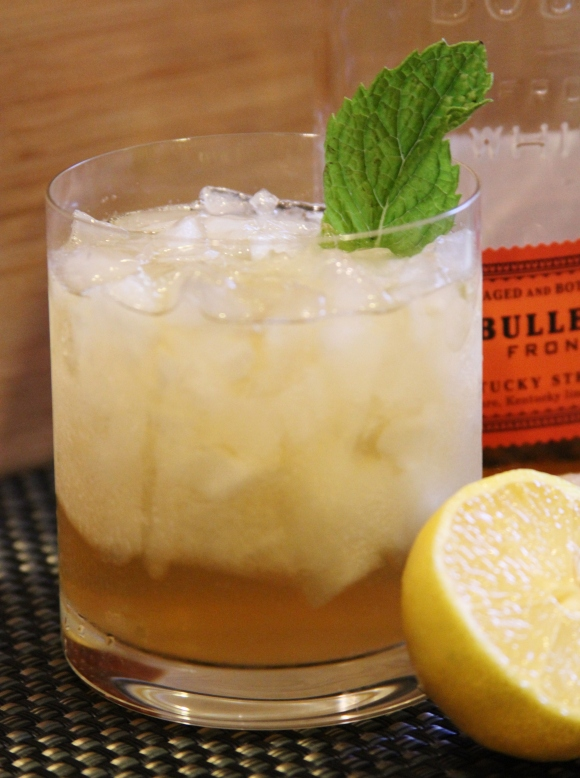Ginger Bourbon Fizz
