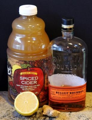 Cider Bourbon Lemon Ginger