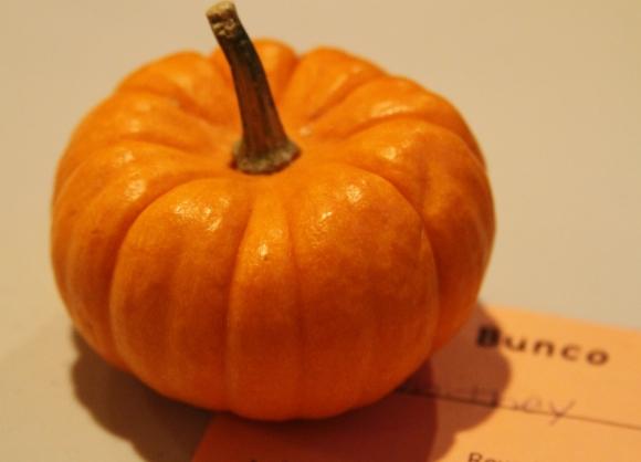 Bunco Pumpkin