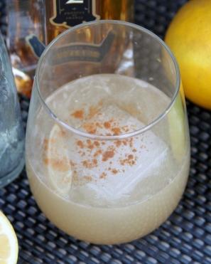 Cinnamon Lemon Tequila Cocktail