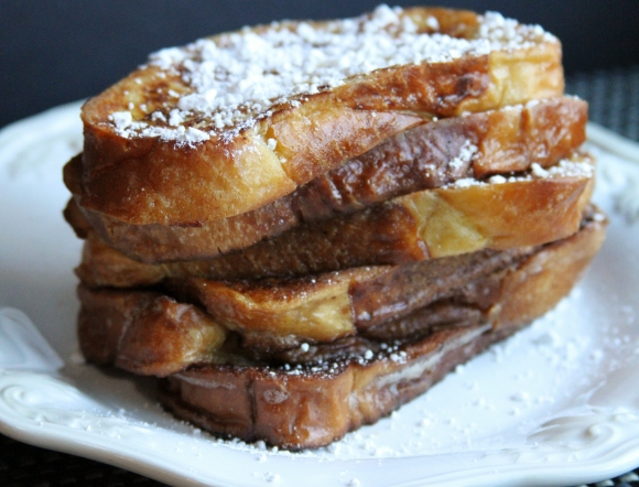Powdered Sugar French Toast