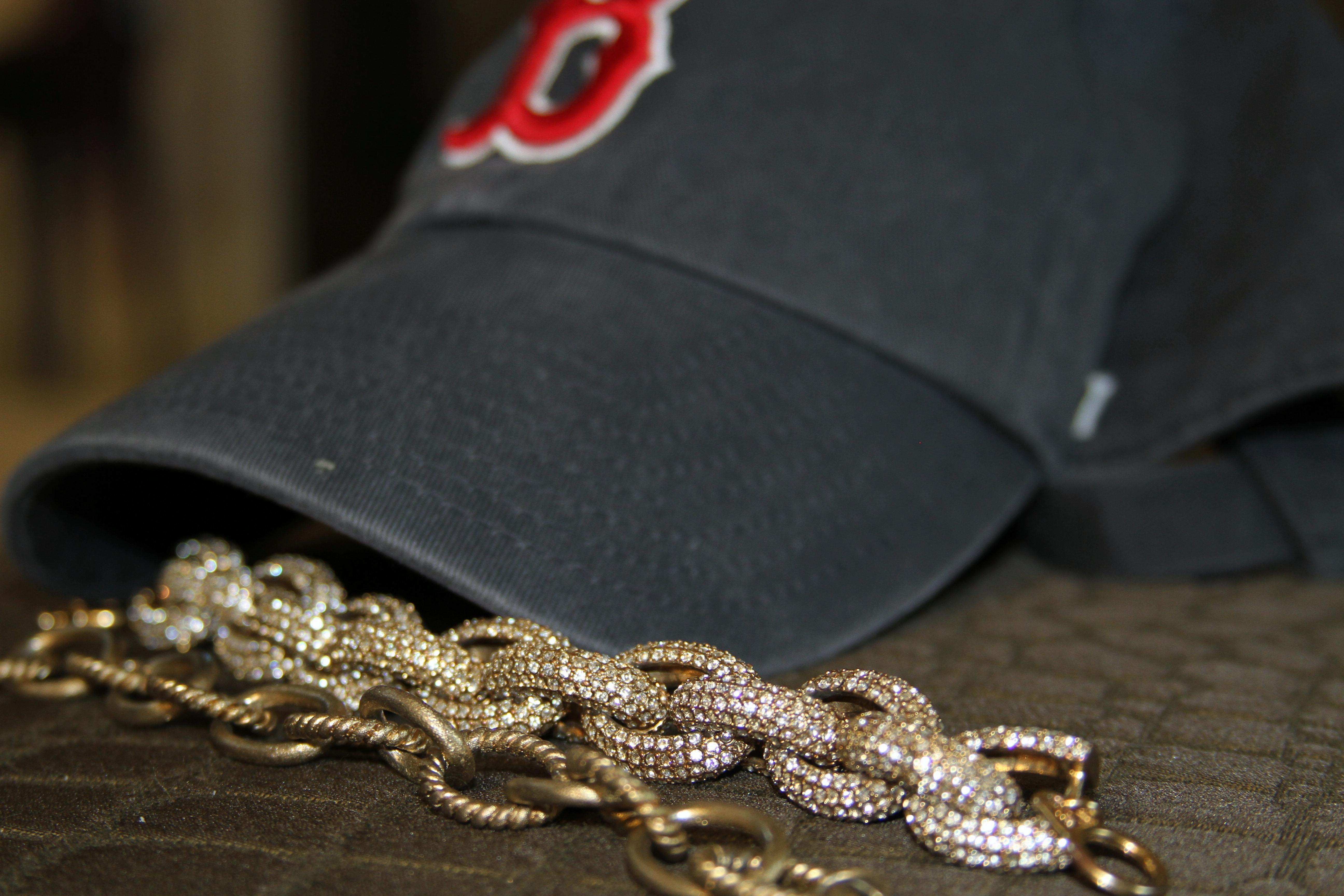 Basbeall Cap Gold Link  Bracelets
