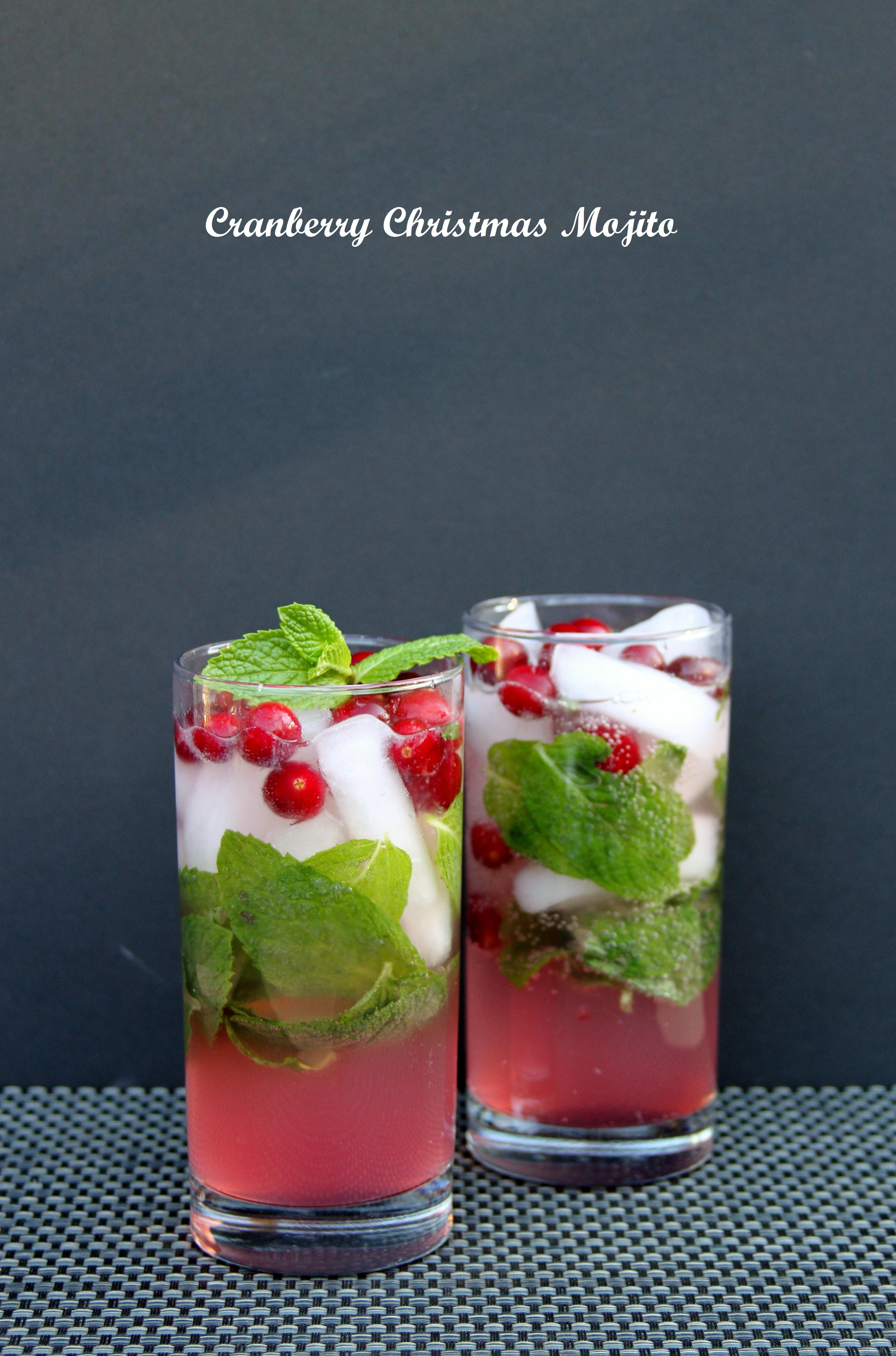 Cranberry Mojito Cocktail2