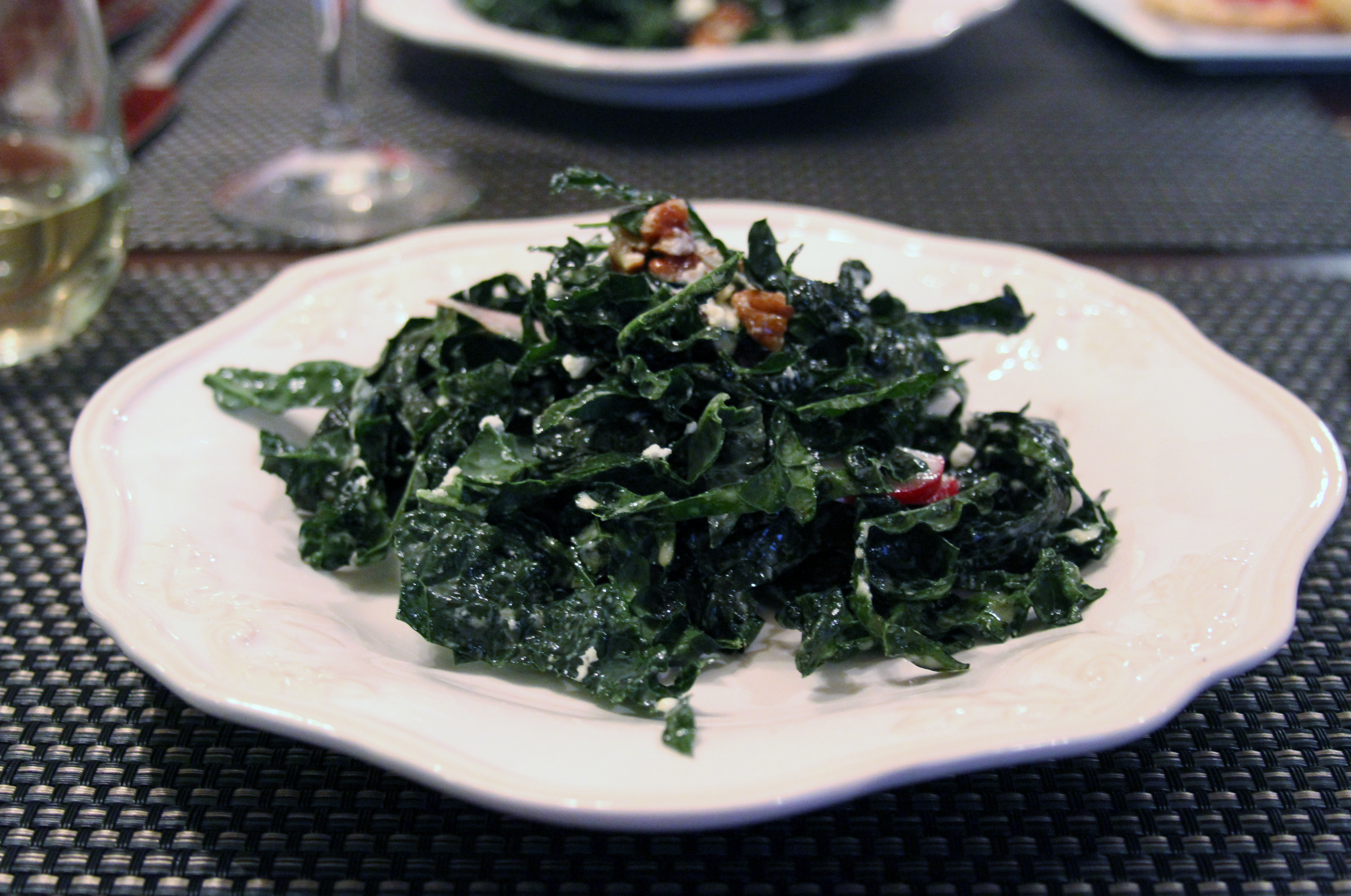 Kale Cherry Salad
