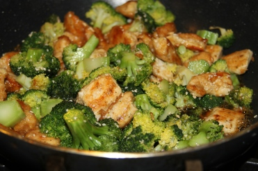 Honey Chicken and Broccoli