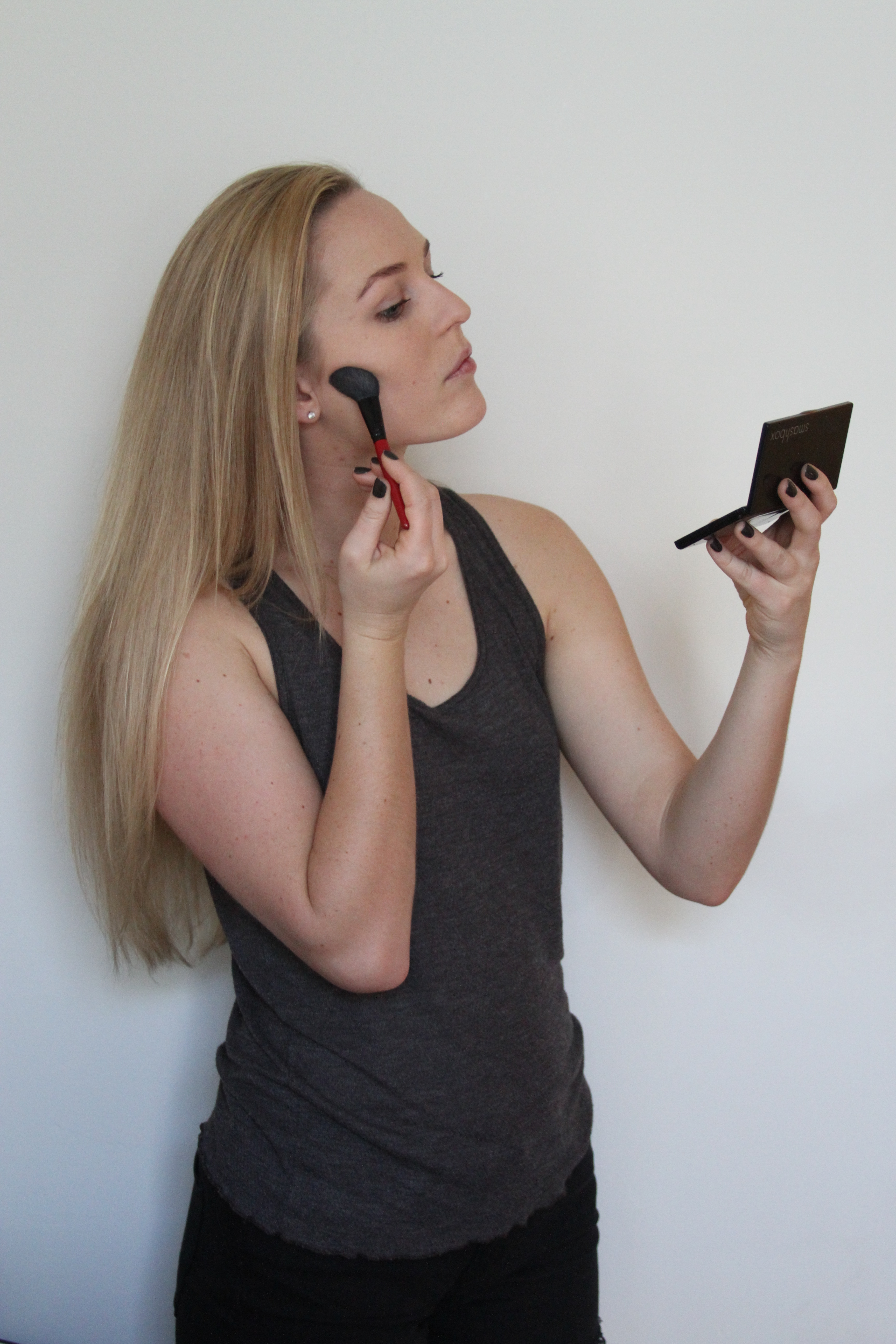 Step 5: Now Your Canvas Is Ready To Contour If You Have A Contouring Kit,  Now Is The Time To Use It, But Sometimes I Just Use Bronzer If I Am In